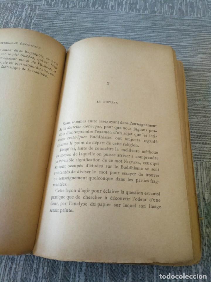 Libros antiguos: MUY RARO: EL BUDISMO ESOTÉRICO O EL POSITIVISMO HINDÚ (PARIS, 1890) - Foto 9 - 221443401