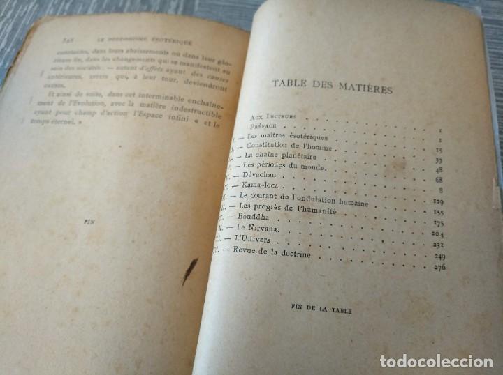 Libros antiguos: MUY RARO: EL BUDISMO ESOTÉRICO O EL POSITIVISMO HINDÚ (PARIS, 1890) - Foto 10 - 221443401