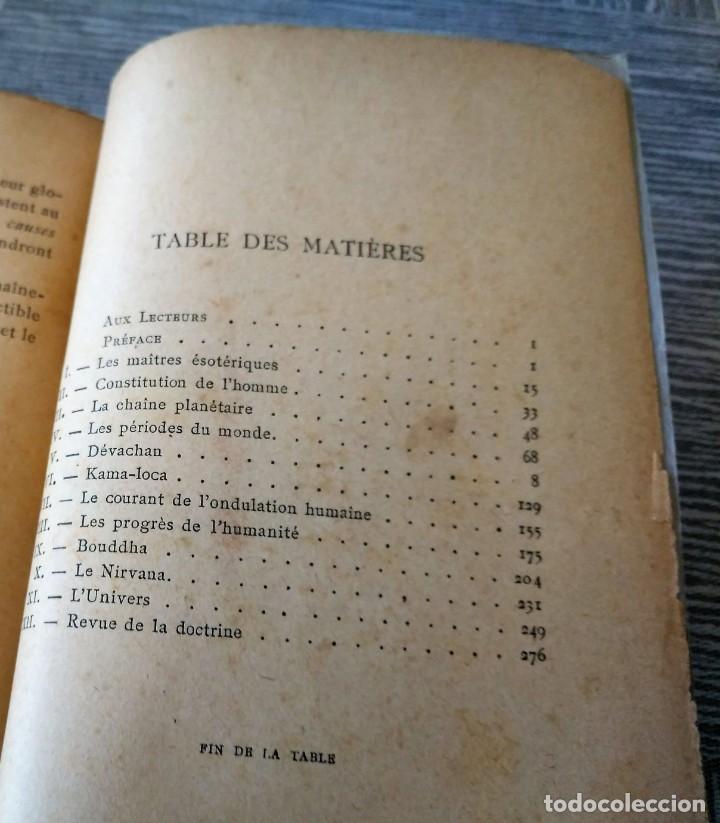 Libros antiguos: MUY RARO: EL BUDISMO ESOTÉRICO O EL POSITIVISMO HINDÚ (PARIS, 1890) - Foto 11 - 221443401