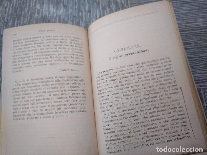 Libros antiguos: LA TELEPATÍA (1912) - PROF. ARMANDO PAPPALARDO - Foto 3 - 221445028
