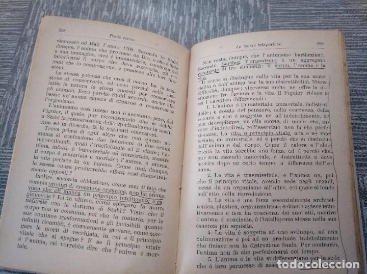 Libros antiguos: LA TELEPATÍA (1912) - PROF. ARMANDO PAPPALARDO - Foto 5 - 221445028