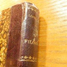Libros antiguos: FILOSOFIA - DOCTRINA ESPIRITISTA - QUINTÍN LÓPEZ GÓMEZ 1910 - EDITORIAL MAUCCI. Lote 221703440