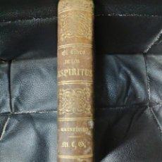 Libros antiguos: EL LIBRO DE LOS ESPIRITUS POR ALLAN KARDEC-- NOCIONES DE MAGNETISMO Y SONAMBULISMO. Lote 222818901