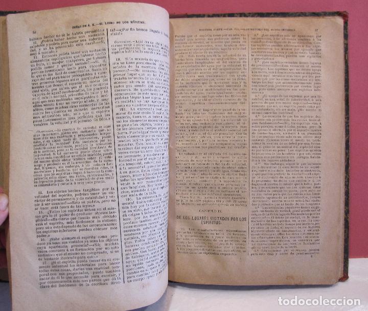 Libros antiguos: ALLAN KARDEC. ESPIRITISMO EXPERIMENTAL O EL LIBRO DE LOS MEDIUMS. 1887 - Foto 7 - 223790296