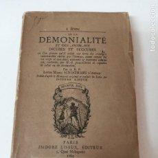 Livres anciens: DE LA DEMONIALIDAD DE LOS ANIMALES INCUBOS Y SUCUBOS 1882 RARO. Lote 224121207
