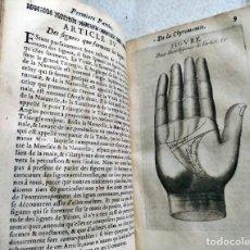 Libros antiguos: AÑO 1665: LA QUIROMANCIA NATURAL.. Lote 224187850