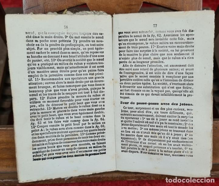Libros antiguos: COLLECTION DES TOURS DESCAMOTAGE. VV.AA. LIB. LE BAILLY. FRANCIA. SIN FECHA. - Foto 3 - 224305761