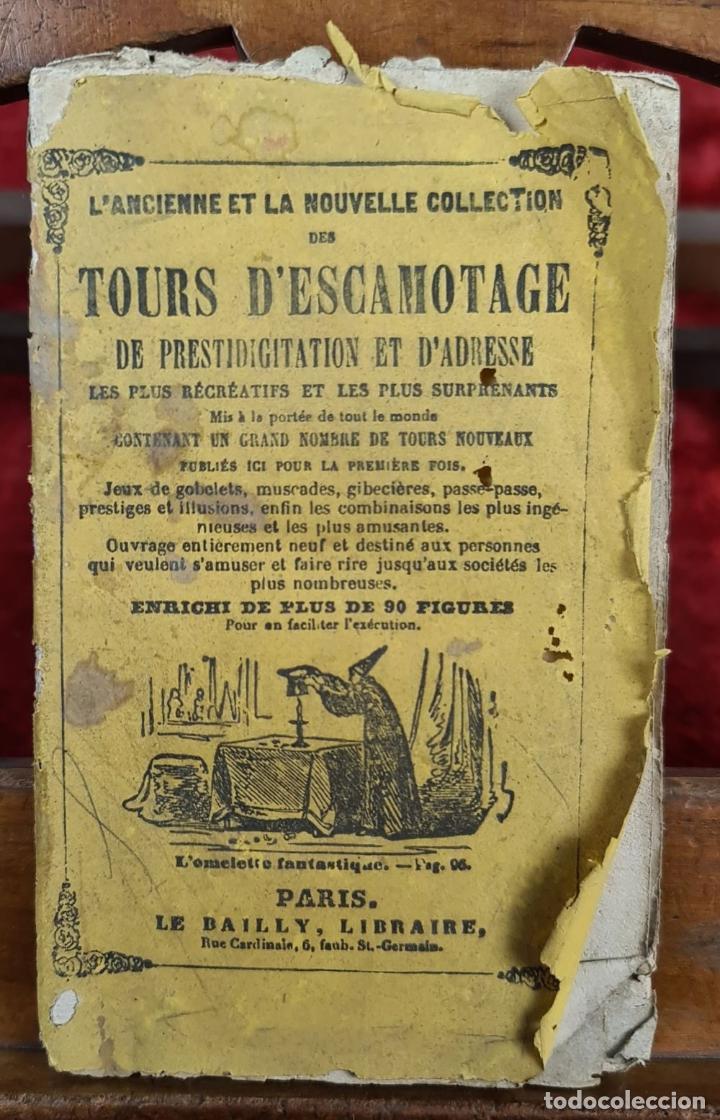 Libros antiguos: COLLECTION DES TOURS DESCAMOTAGE. VV.AA. LIB. LE BAILLY. FRANCIA. SIN FECHA. - Foto 4 - 224305761
