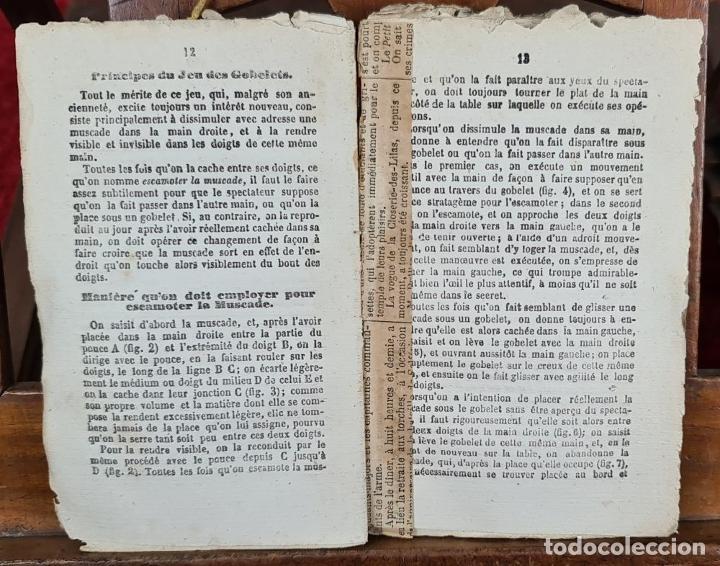 Libros antiguos: COLLECTION DES TOURS DESCAMOTAGE. VV.AA. LIB. LE BAILLY. FRANCIA. SIN FECHA. - Foto 5 - 224305761