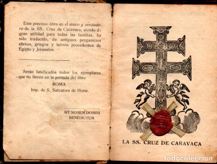 TESORO DE MILAGROS Y ORACIONES DE LA SANTA CRUZ DE CARAVACA - S. SALVATORE DE HORTE - LACRADO (Libros Antiguos, Raros y Curiosos - Parapsicología y Esoterismo)