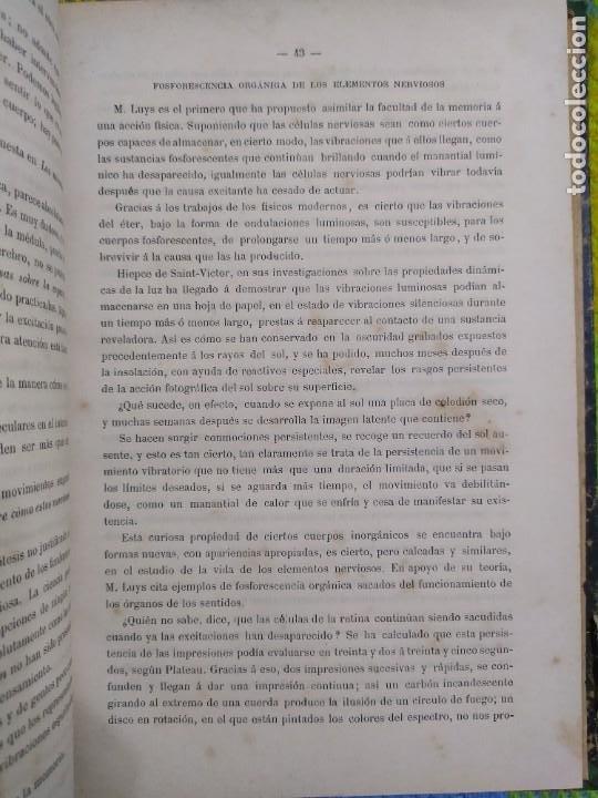 Libros antiguos: 1886. El espiritismo ante la ciencia. Gabriel Delanne. Raro. - Foto 4 - 226036480