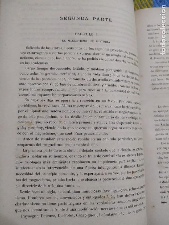 Libros antiguos: 1886. El espiritismo ante la ciencia. Gabriel Delanne. Raro. - Foto 5 - 226036480