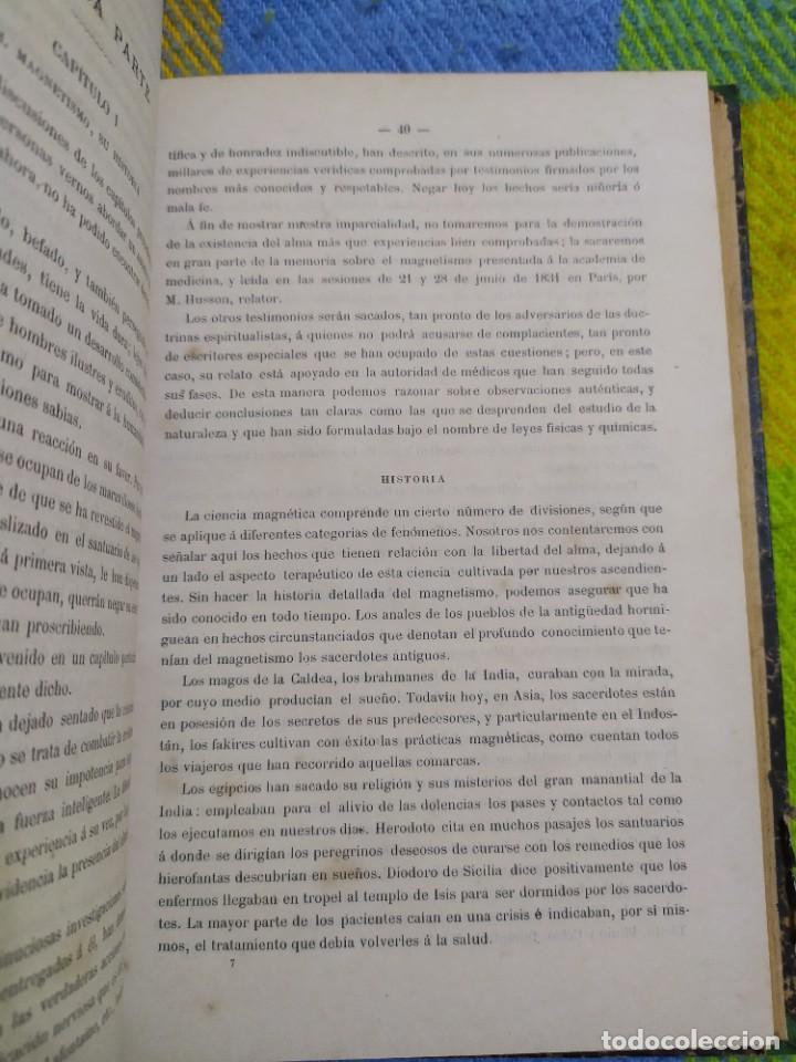 Libros antiguos: 1886. El espiritismo ante la ciencia. Gabriel Delanne. Raro. - Foto 6 - 226036480