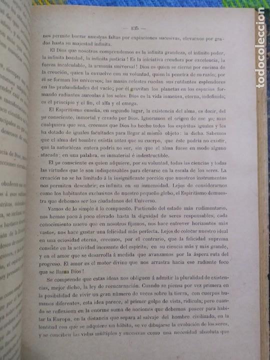 Libros antiguos: 1886. El espiritismo ante la ciencia. Gabriel Delanne. Raro. - Foto 7 - 226036480