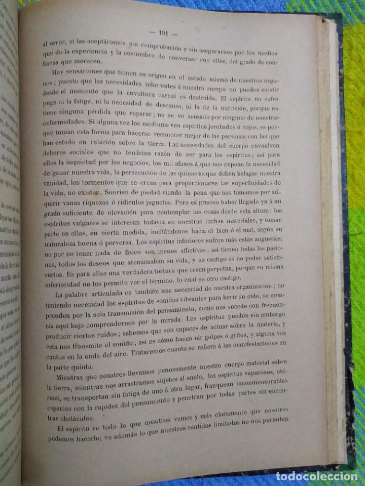 Libros antiguos: 1886. El espiritismo ante la ciencia. Gabriel Delanne. Raro. - Foto 9 - 226036480