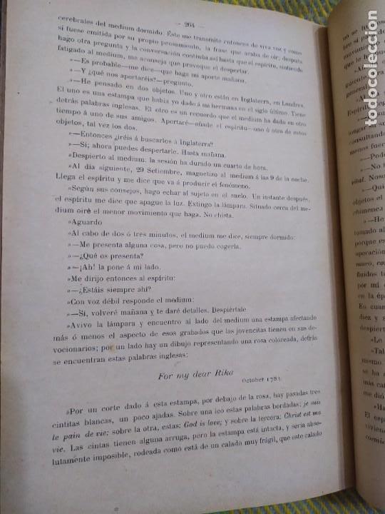 Libros antiguos: 1886. El espiritismo ante la ciencia. Gabriel Delanne. Raro. - Foto 11 - 226036480