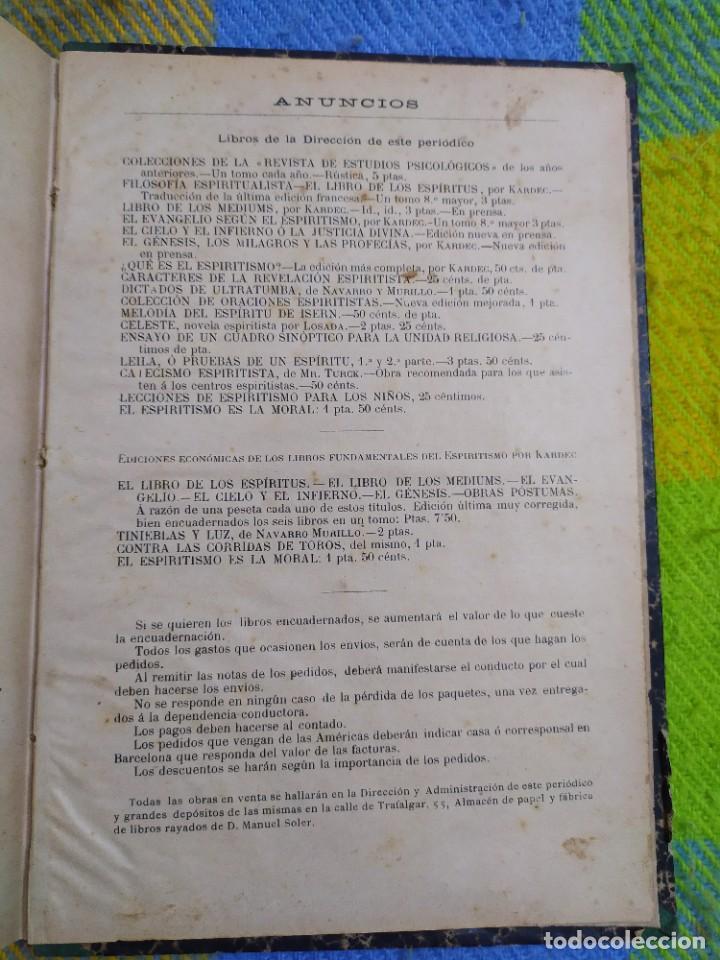 Libros antiguos: 1886. El espiritismo ante la ciencia. Gabriel Delanne. Raro. - Foto 14 - 226036480