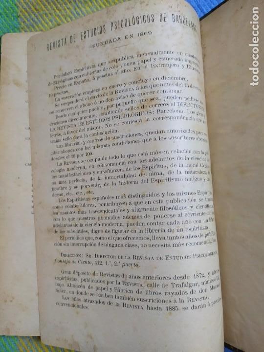 Libros antiguos: 1886. El espiritismo ante la ciencia. Gabriel Delanne. Raro. - Foto 15 - 226036480