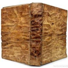 Livres anciens: 1739 - MAGIA EN ESPAÑA, CUEVAS DE SALAMANCA Y TOLEDO, ANTICRISTO, FIN DEL MUNDO - FEIJOO - PERGAMINO. Lote 226252105