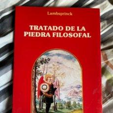 Libri antichi: TRTADO DE LA PIEDRA FILOSOFAL - LAMBSPRINCK (ALQUIMIA). Lote 229062890