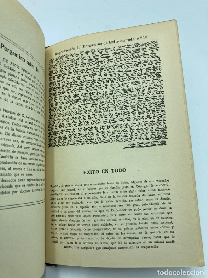 Libros antiguos: LOS SEIS SECRETOS DEL GRAND GOLDINNI - Foto 5 - 230215935