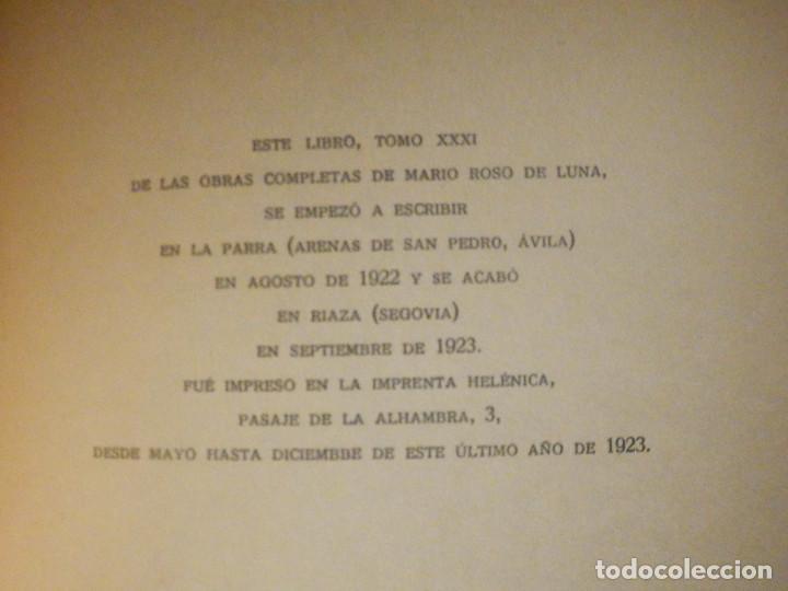 Libros antiguos: DEL ARBOL DE LAS HESPÉRIDES - MARIO ROSO DE LUNA - Año 1923 - Pueyo - Cuentos teosóficos Españoles - Foto 4 - 233322545