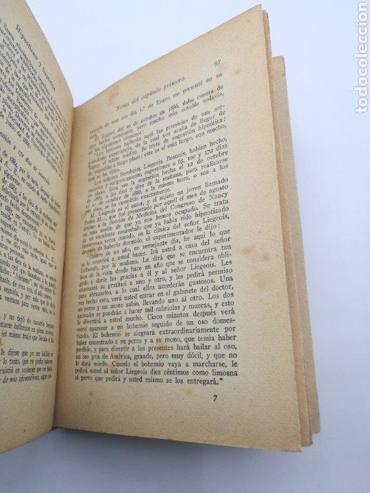 Libros antiguos: Hipnotismo y sugestión por W Wundt - Foto 3 - 234562730