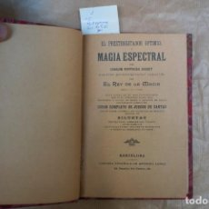 Libros antiguos: MAGIA ESPECTRAL.JOAQUIN PARTAGAS JAQUET. Lote 234806400
