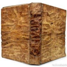 Libros antiguos: 1739 - MAGIA EN ESPAÑA, CUEVAS DE SALAMANCA Y TOLEDO, ANTICRISTO, FIN DEL MUNDO - FEIJOO - PERGAMINO. Lote 234991590