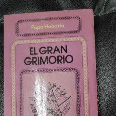 Libros antiguos: EL GRAN GRIMORIO ( PAPA HONORIO ) COLECCION HERMES. Lote 236524540