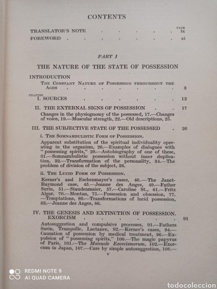 Libros antiguos: Possession demoniacal and others 1930 Diablo exorcismo posesión demonios ocultismo magia Exorcista - Foto 4 - 237102615