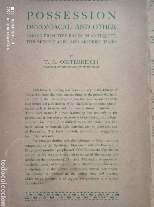 POSSESSION DEMONIACAL AND OTHERS 1930 DIABLO EXORCISMO POSESIÓN DEMONIOS OCULTISMO MAGIA EXORCISTA (Libros Antiguos, Raros y Curiosos - Parapsicología y Esoterismo)