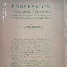 Libros antiguos: POSSESSION DEMONIACAL AND OTHERS 1930 DIABLO EXORCISMO POSESIÓN DEMONIOS OCULTISMO MAGIA EXORCISTA. Lote 237102615