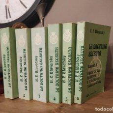 Livros antigos: LA DOCTRINA SECRETA. 6 TOMOS ( COMPLETO). H.P. BLAVATSKY. LUIS CÁRCAMO,ED.1978. FILOSOFÍA OCULTA. Lote 242888710