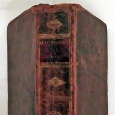 Livros antigos: AÑO 1772: DICCIONARIO DE LA FABLE. MITOLOGÍA, ESOTERISMO... SIGLO XVIII.. Lote 243168035