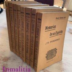 """Libros antiguos: 8 TOMOS MEMORIAS DE UN ESPÍRITU ¡TE PERDONO! AMALIA DOMINGO SOLER. ESPIRITISMO. """"LA BUENA NUEVA"""".. Lote 247998090"""
