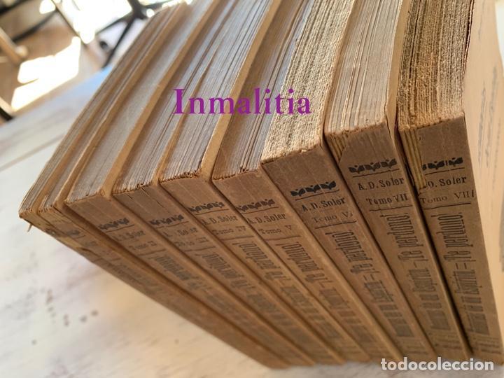 """Libros antiguos: 8 TOMOS MEMORIAS DE UN ESPÍRITU ¡TE PERDONO! Amalia Domingo Soler. Espiritismo. """"La Buena Nueva"""". - Foto 2 - 247998090"""