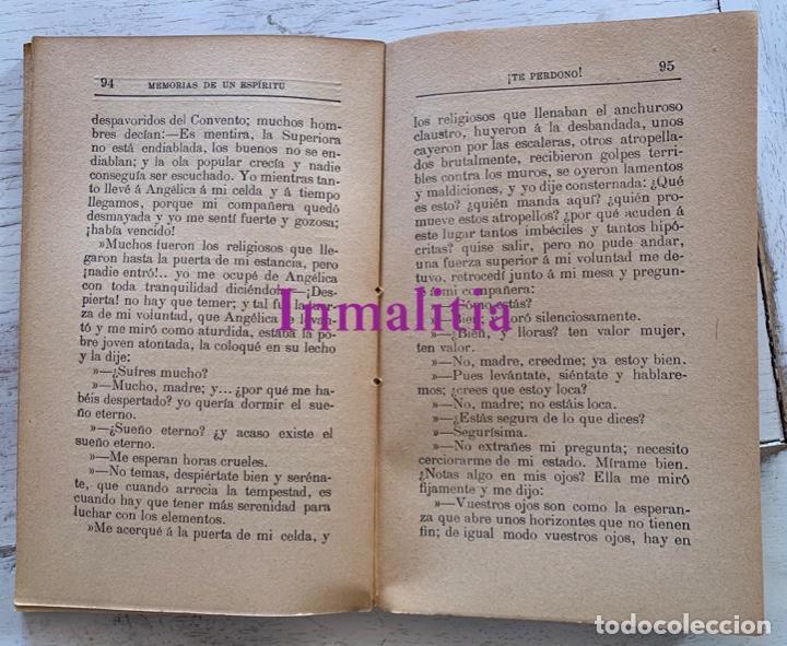 """Libros antiguos: 8 TOMOS MEMORIAS DE UN ESPÍRITU ¡TE PERDONO! Amalia Domingo Soler. Espiritismo. """"La Buena Nueva"""". - Foto 10 - 247998090"""