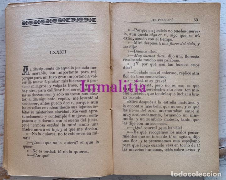 """Libros antiguos: 8 TOMOS MEMORIAS DE UN ESPÍRITU ¡TE PERDONO! Amalia Domingo Soler. Espiritismo. """"La Buena Nueva"""". - Foto 14 - 247998090"""