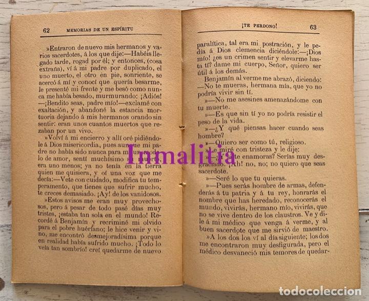 """Libros antiguos: 8 TOMOS MEMORIAS DE UN ESPÍRITU ¡TE PERDONO! Amalia Domingo Soler. Espiritismo. """"La Buena Nueva"""". - Foto 27 - 247998090"""