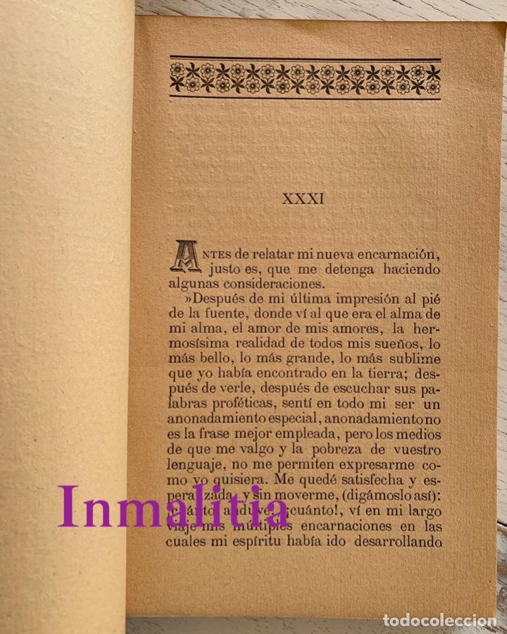 """Libros antiguos: 8 TOMOS MEMORIAS DE UN ESPÍRITU ¡TE PERDONO! Amalia Domingo Soler. Espiritismo. """"La Buena Nueva"""". - Foto 28 - 247998090"""