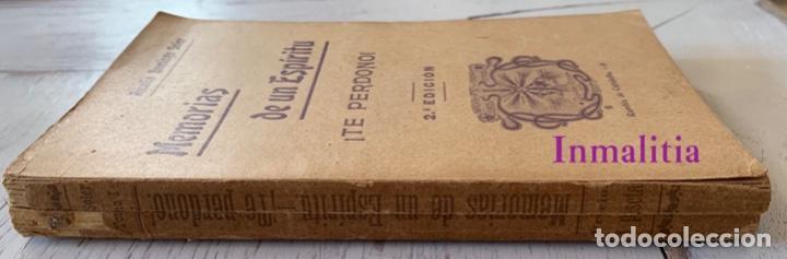 """Libros antiguos: 8 TOMOS MEMORIAS DE UN ESPÍRITU ¡TE PERDONO! Amalia Domingo Soler. Espiritismo. """"La Buena Nueva"""". - Foto 38 - 247998090"""