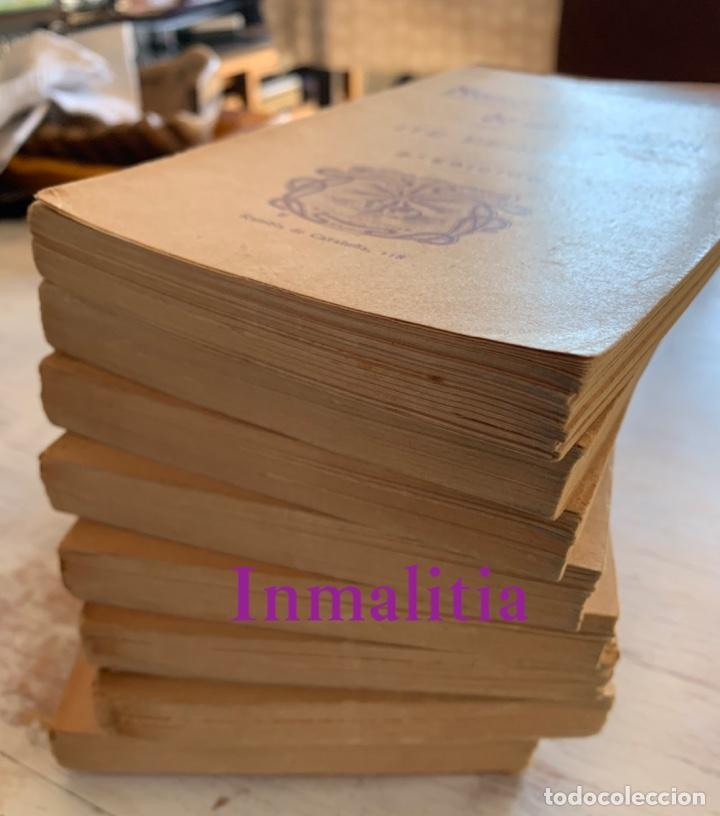 """Libros antiguos: 8 TOMOS MEMORIAS DE UN ESPÍRITU ¡TE PERDONO! Amalia Domingo Soler. Espiritismo. """"La Buena Nueva"""". - Foto 42 - 247998090"""