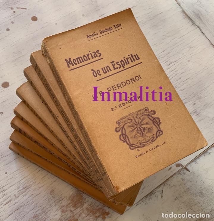 """Libros antiguos: 8 TOMOS MEMORIAS DE UN ESPÍRITU ¡TE PERDONO! Amalia Domingo Soler. Espiritismo. """"La Buena Nueva"""". - Foto 43 - 247998090"""