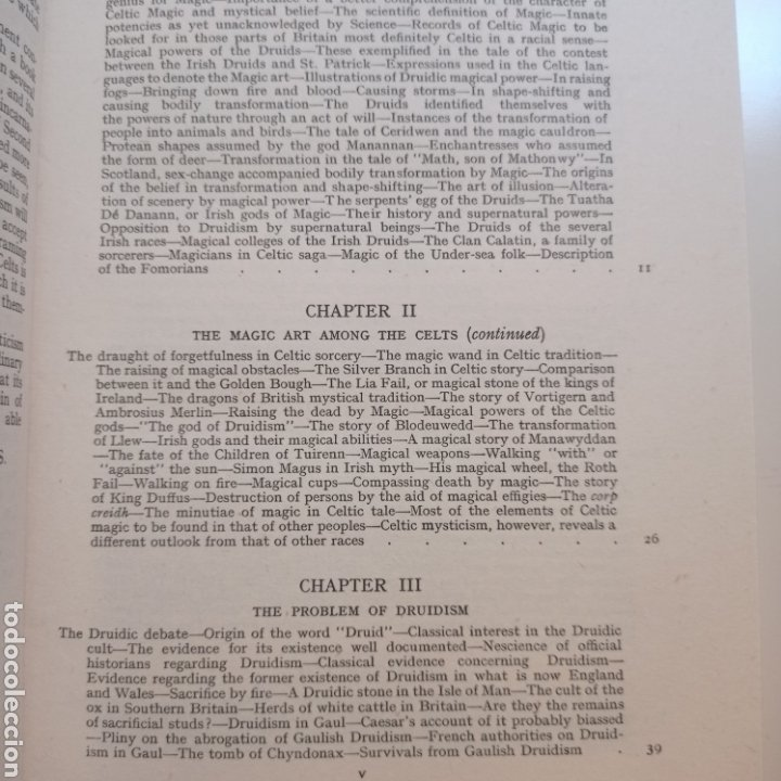 Libros antiguos: Lewis Spence The magic arts of Celtic Britain 1946 ocultismo magia celtas brujería druidismo grial b - Foto 5 - 250347435
