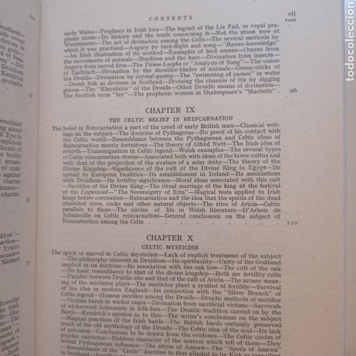 Libros antiguos: Lewis Spence The magic arts of Celtic Britain 1946 ocultismo magia celtas brujería druidismo grial b - Foto 7 - 250347435