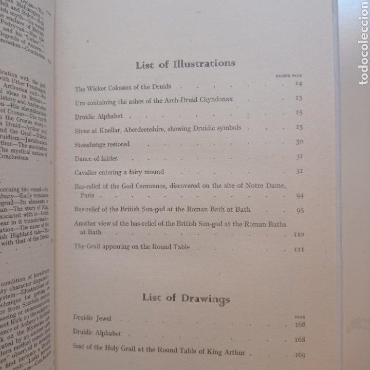 Libros antiguos: Lewis Spence The magic arts of Celtic Britain 1946 ocultismo magia celtas brujería druidismo grial b - Foto 9 - 250347435