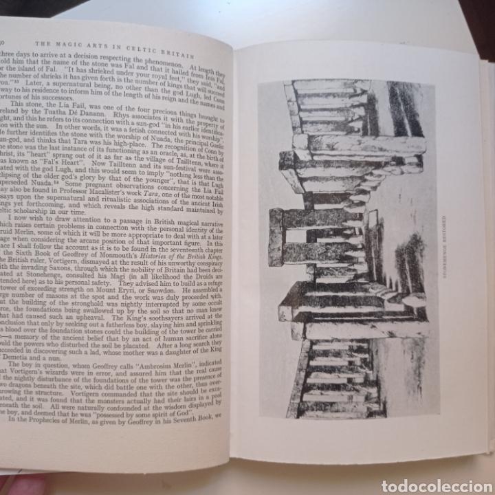 Libros antiguos: Lewis Spence The magic arts of Celtic Britain 1946 ocultismo magia celtas brujería druidismo grial b - Foto 10 - 250347435