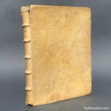 Livres anciens: 1722 - LOPEZ EZQUERRA - LITERATURA MISTICA - LAS MERINDADES - BURGOS - CANTABRIA - PERGAMINO. Lote 251194910