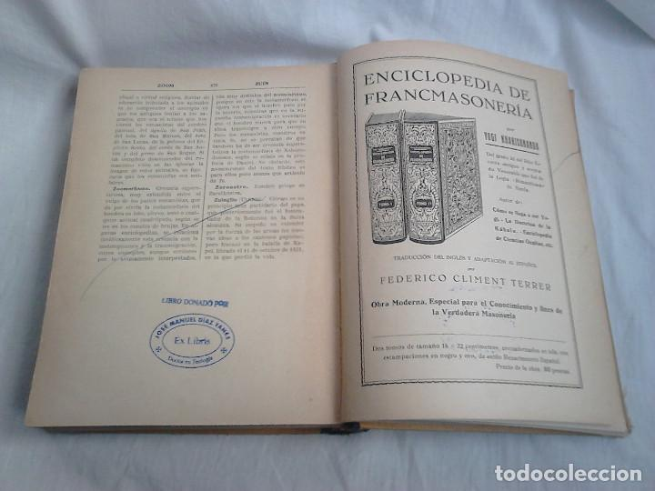 Libros antiguos: C. 1930 - Raro - Enciclopedia de Ciencias Ocultas - Yogi Kharishnanda / OCULTISMO, ALQUIMIA, MAGIA - Foto 11 - 233473775